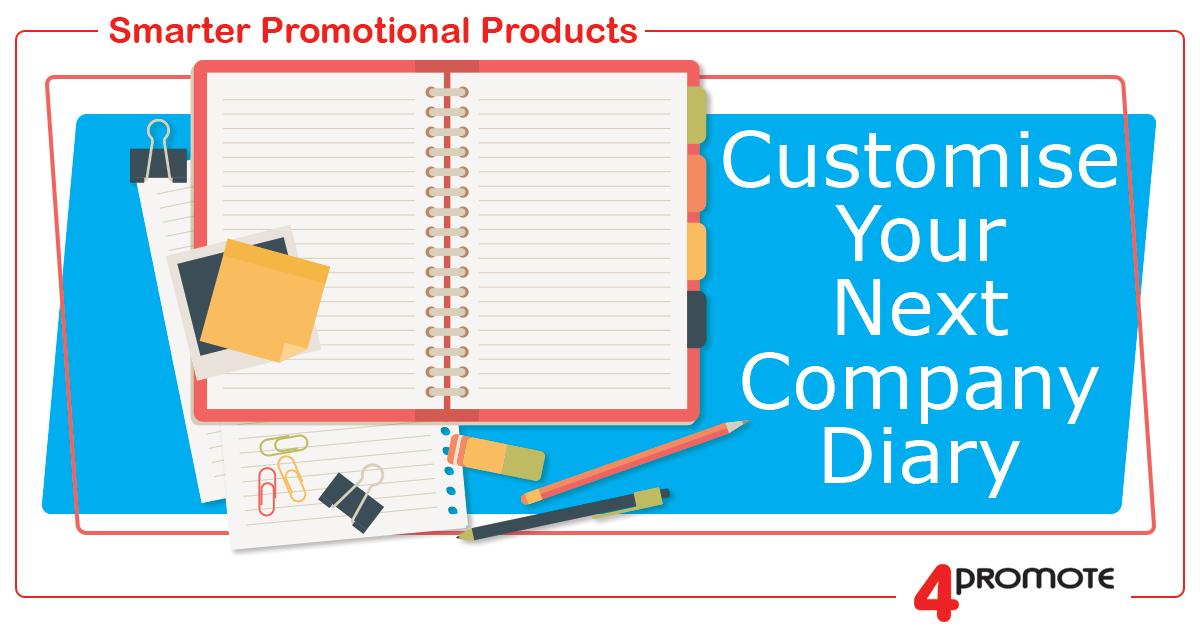 Custom Branded Diaries