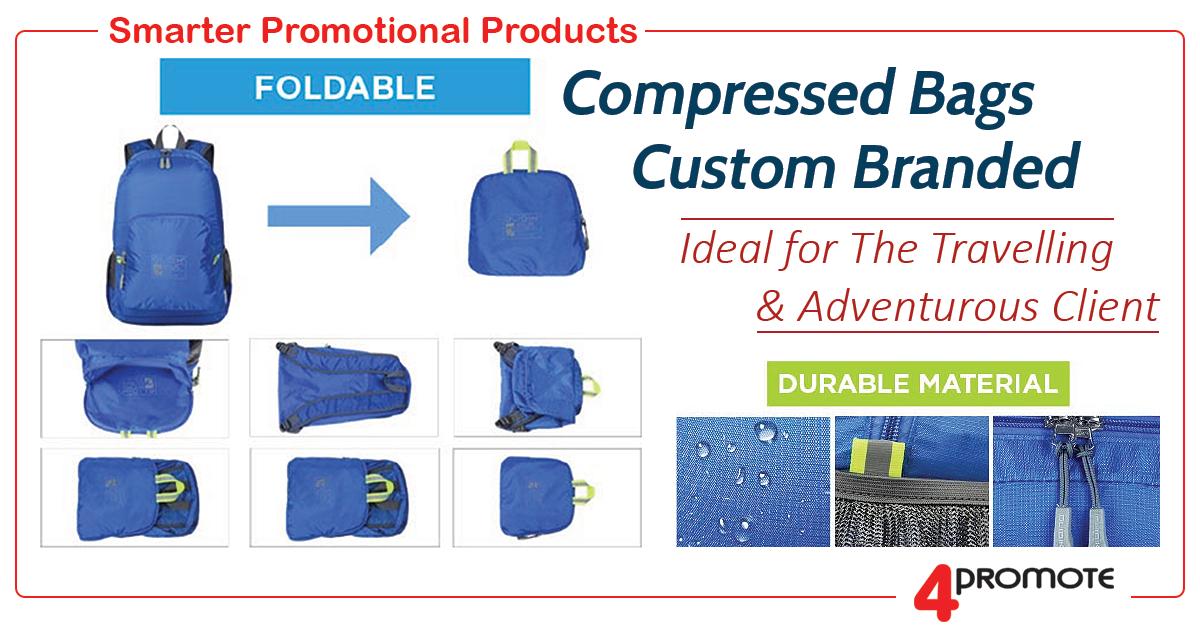 Custom Branded Compressed Bags