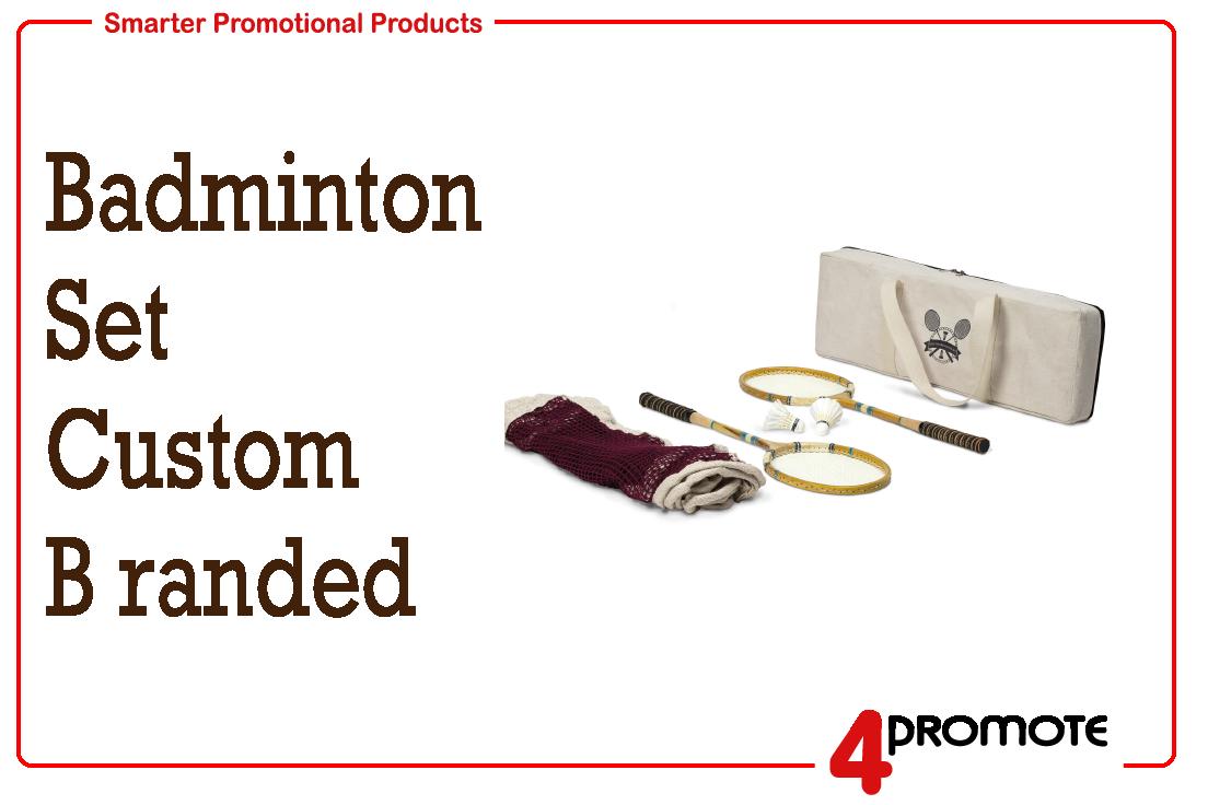 Badminton Set - custom branded