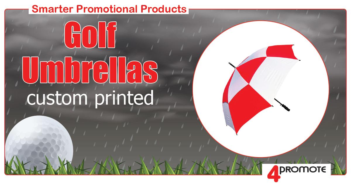 Golf Umbrella - Custom Branded