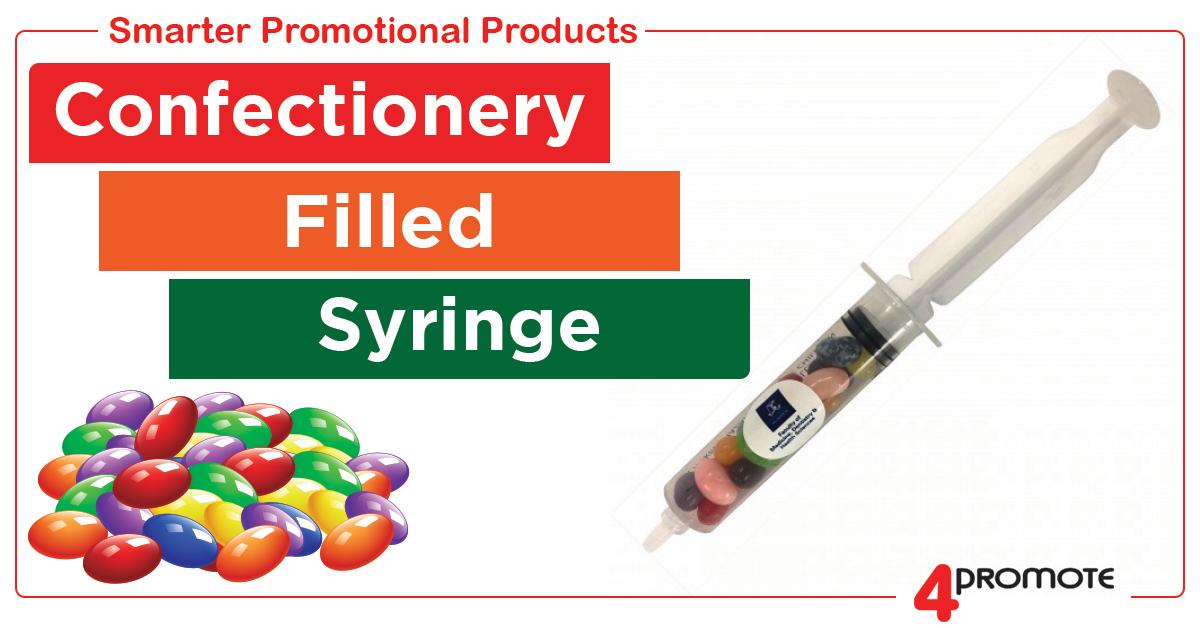Candy Filled Syringe