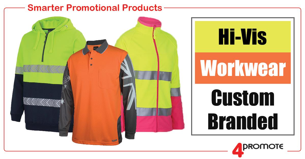 Branded Hi-Vis Workwear Works