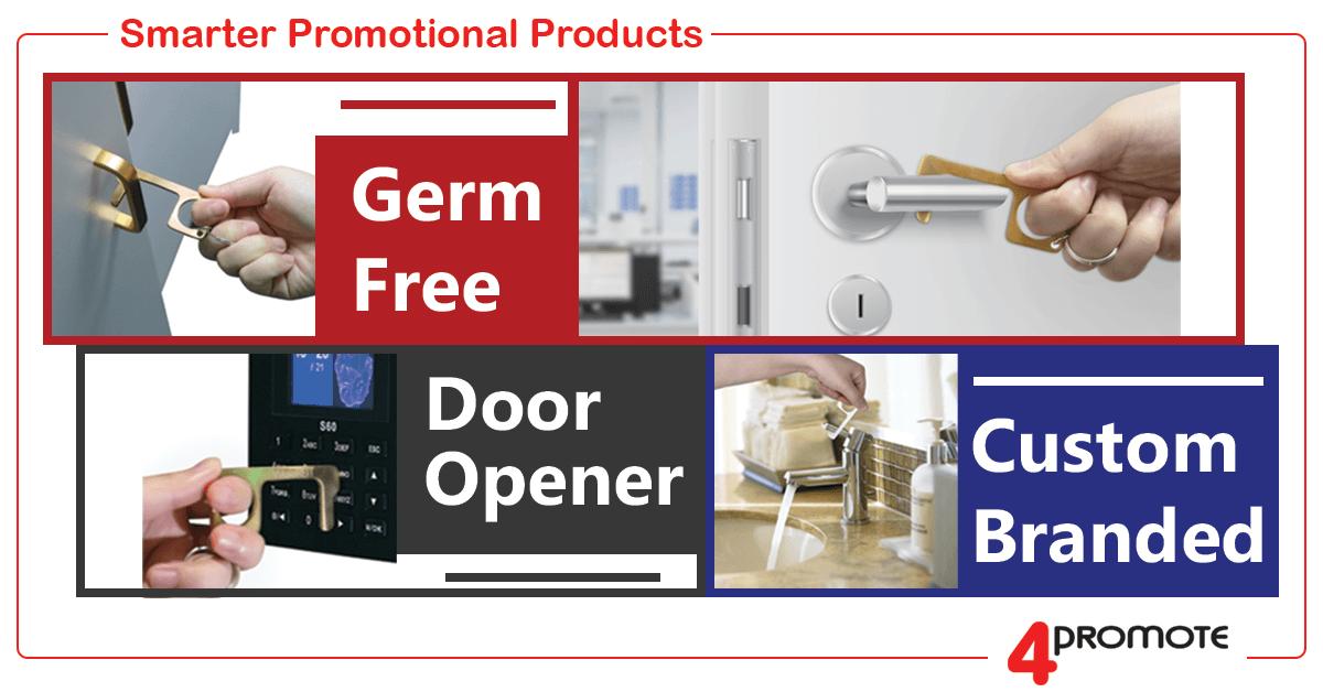 Custom Branded Germ Free Door Opener