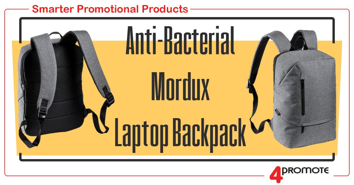 Custom Branded - Anti-Bacterial Mordux Laptop Backpack