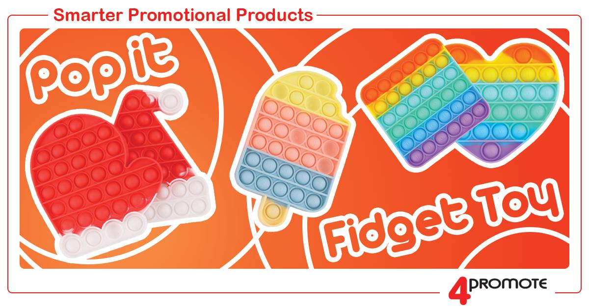 Custom Branded Pop It Fidget Toy