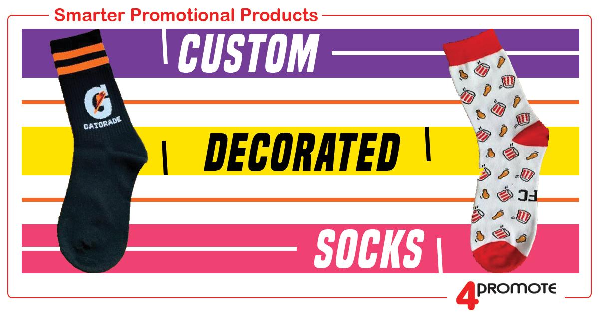 Custom Decorated Socks