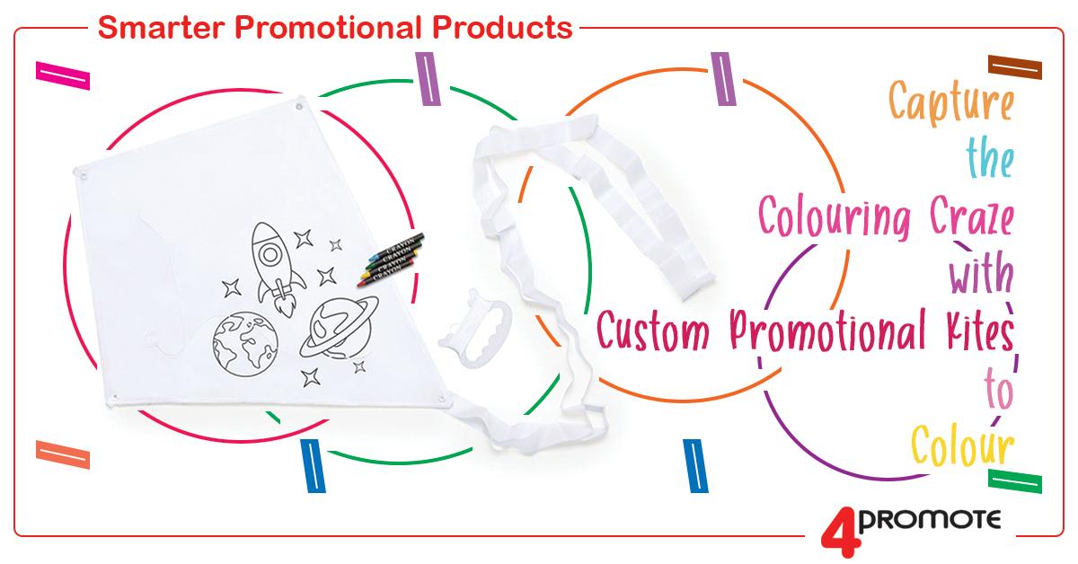 Custom Branded Promotional Kites to Colour