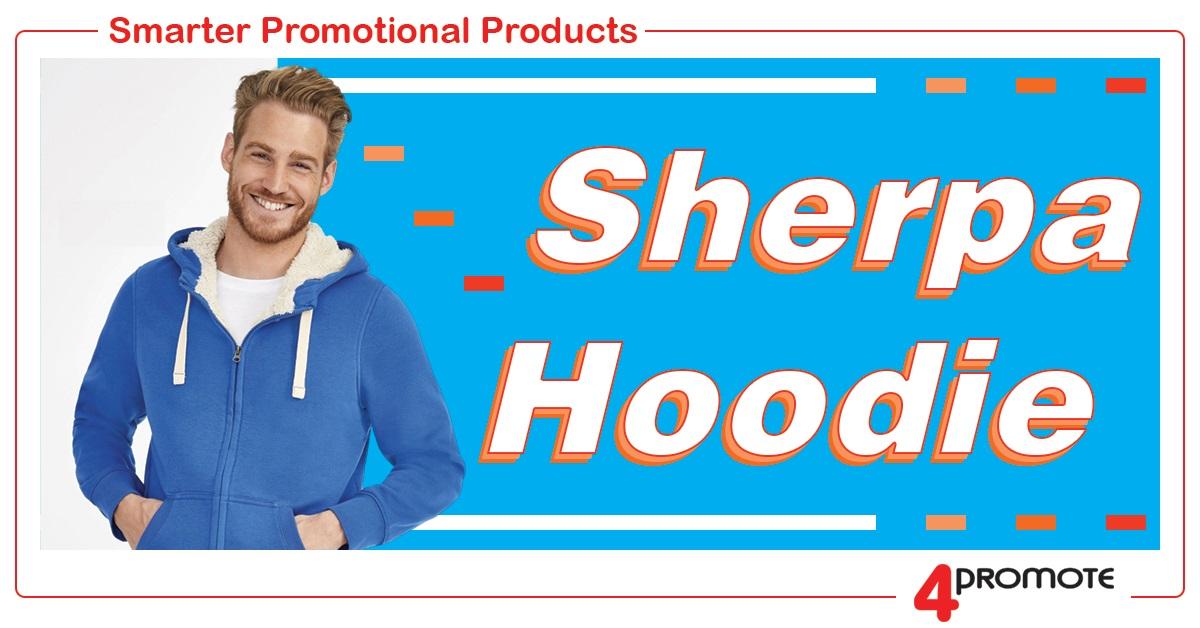 Custom Branded Sherpa Hoodie