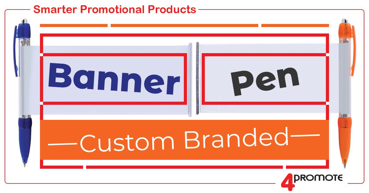 Custom Branded - Banner Pen