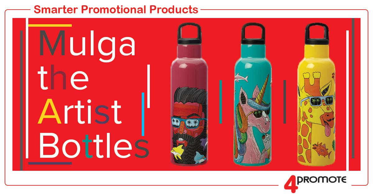 Custom Branded - Mulga the Artist - Bottles