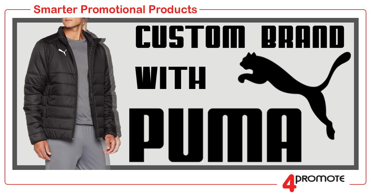 Custom Branded - Puma Teamwear Padded Puffer Jacket