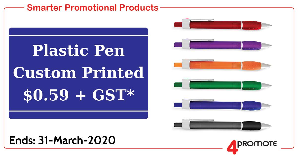 Plastic Pen Special