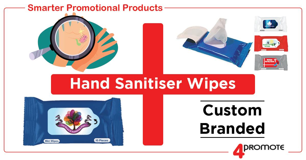 Hand Sanitiser Wipes - Anti-Bacterial