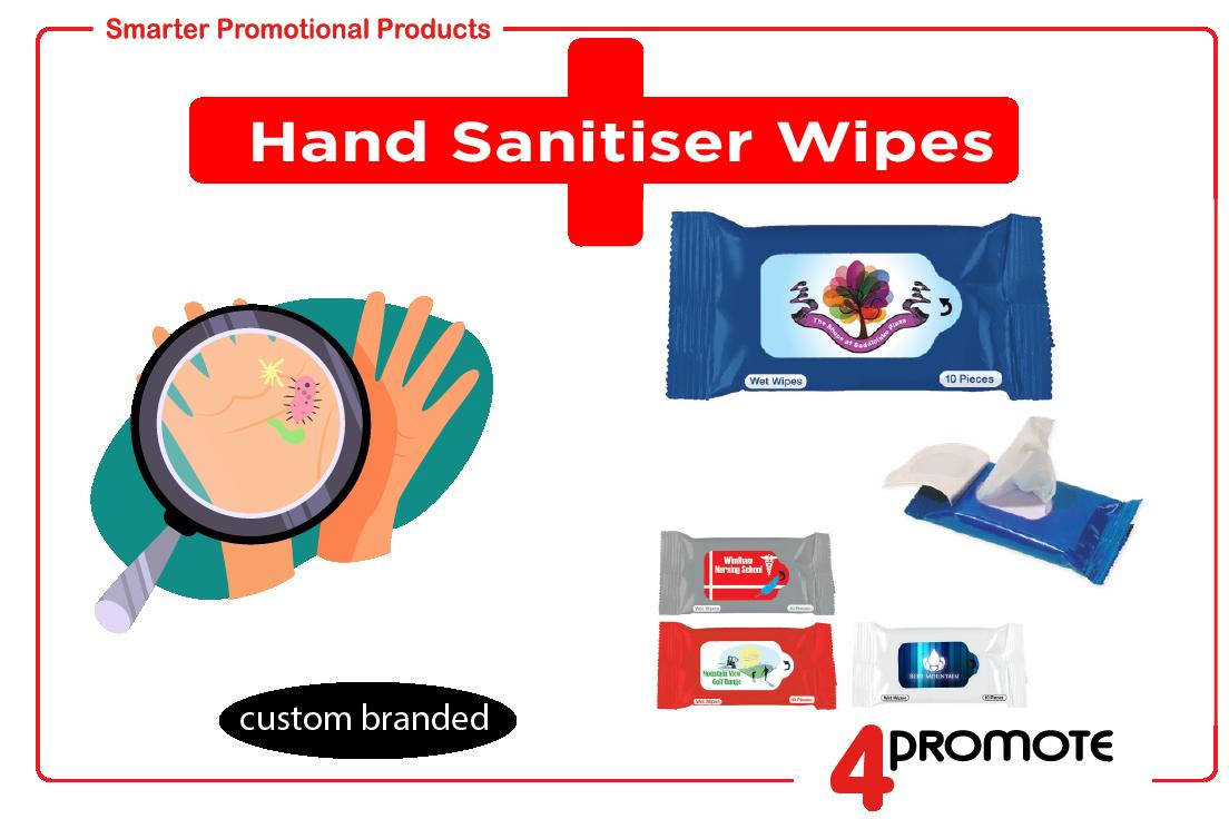 Hand Sanitiser Wipes - Ant-Bacterial