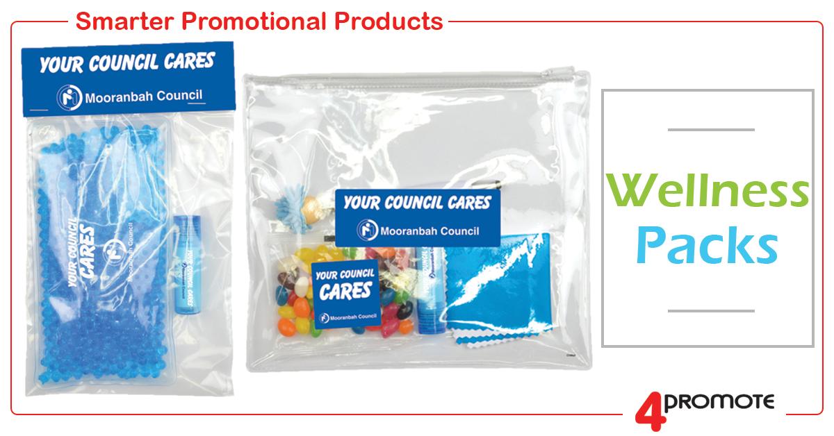Custom Printed Wellness Packs