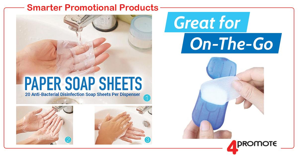 Custom Paper Soap Sheets