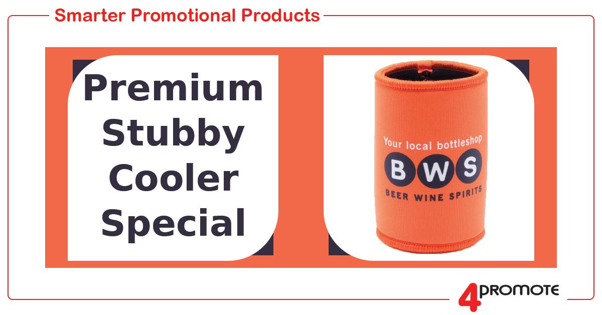 Premium Stubby Cooler Special